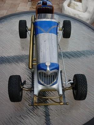 Pickard 30 design vintage race car