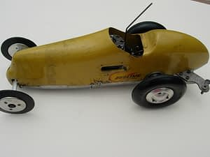 tether cars, history, collectibles, for sale