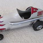 1960's aluminum Tether race cars